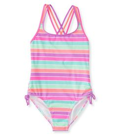 Kids' Multistripe One-Piece Swimsuit - PS From Aéropostale®
