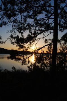 sunset by the lake by LucieG-Stock.deviantart.com on @deviantART