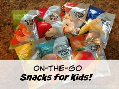 On-the-go snacks for kids from Crispy Green! Enter to win on ahhmazingreviews.com!