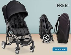 FREE City Mini ZIP Carry Bag - $59.95 Value Receive a FREE stroller carry bag ($59.95 value!) with the purchase of any Baby Jogger City Mini ZIP stroller! #BabyGear #Baby #Stroller #Deal