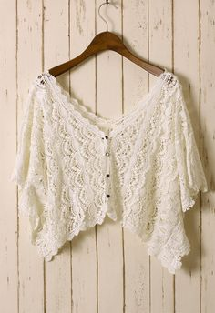 White Eyelash Crochet Top - New Arrivals - Retro, Indie and Unique Fashion #Chicwish