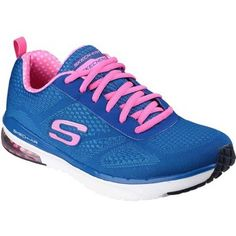Skechers Womens Skech Air Infinity Blue And Hot Pink