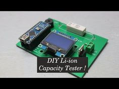 Picture of DIY Li-ion Capacity Tester ! Ohms Law, Robotics Projects, Diy Tech, Circuit Design, Electronic Engineering, High Voltage, Electronics Projects, Arduino, Science And Technology