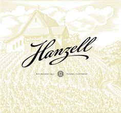 Hanzell Vineyards - classic minimalist design.