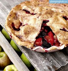 a perfect pie. #glamping #glampinghub