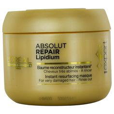 L'OREAL by L'Oreal SERIE EXPERT ABSOLUTE REPAIR LIPIDIUM MASK 6.8 OZ for UNISEX ---(Package Of 5) *** This is an Amazon Affiliate link. Details can be found by clicking on the image.
