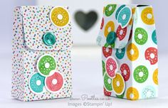 Pootles - 6x6 Cherry on Top Button Box Tutorial * super ! mit magnet geschlossen, klett ginge auch