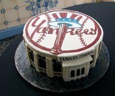 Yankees cakes on pinterest yankee cake new york yankees and groom cake - Maison amp jardin altamonte springs fl tours ...