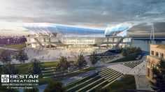 BestarCreations team created for their St. Louis Stadium, a new NFL stadium on the riverfront in downtown St. Louis, USA.
