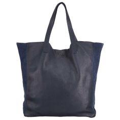pieces Sharon Leather Net Shopper