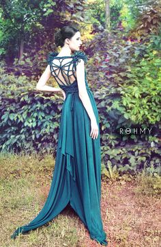 Draped Wedding Dress Dragonfly No. 2 ROHMY Gold Label /// by ROHMY