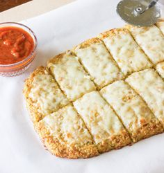 Quinoa Crust for Pizza or Cheesy Garlic Bread - The Wholesome Dish