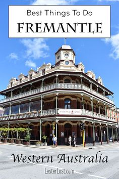 With its museums, galleries, cool street art, coffee culture and pubs on every corner, I like to describe Fremantle as the cool vibe of Perth. Australia Travel Guide, Visit Australia, Western Australia, Perth Australia, Cool Places To Visit, Places To Travel, Travel Destinations, Travel Guides, Travel Tips