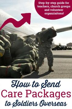 How teachers, church groups and volunteer organizations can send care packages to soldiers and other troops overseas!