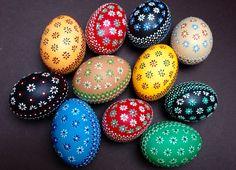 Sorbische Ostereier Sorbian Easter Eggs