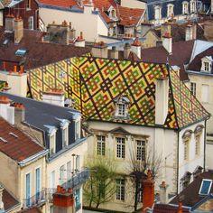 Roof in Dijon - France by valentina canuti, via Flickr