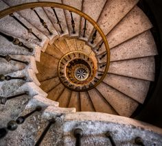 Vatican Museum Sagrada Familia, Spain Dresden, Germany Cottbus University Library, Germany Heal's Department Store, - Interesting - Check out: Spiral Staircase Photos on Barnorama Beautiful Stairs, Snail Shell, Take The Stairs, Stair Steps, Stairway To Heaven, Staircase Design, Staircase Ideas, Architecture Details, Revival Architecture
