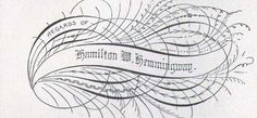 Penmanship | Flourished Cards Victorian Calligraphy Lessons 1886 | Flickr - Photo ...