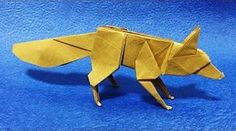 Origami fox by Quentin Trollip - YouTube