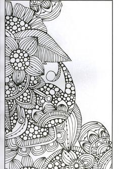 Design Originals Color Calm Perfectly Portable Coloring and Activity Book by Valentina Harper
