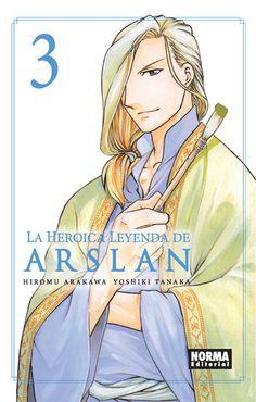 La heroica leyenda de Arslan 3, de Tanaka y Arakawa.
