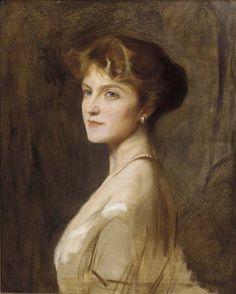 Philip de László, (Hungarian 1869–1937, became a British citizen in 1914) [Portrait artist] Ivy Cavendish-Bentinck, Marchioness of Tavistock (later Duchess of Portland), 1915.