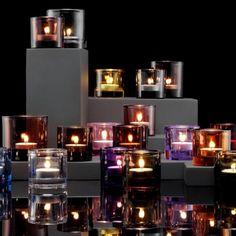 Kivi candle holder by Iittala Finland Glass Candle, Votive Candles, Glass Art, Candels, Home Design, Fairy Lights, Tea Lights, Best Ads, Vintage Pottery