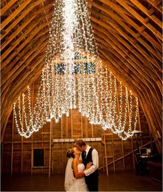 Its Raining Lights! 8 Beautiful and Creative Backdrops for Your Ceremony   Contemporary Bride