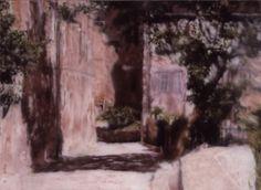 Gerhard Richter, Village, 1988  Catalogue Raisonné: 663-4. http://www.gerhard-richter.com/art/paintings/abstracts/detail.php?paintid=7667#