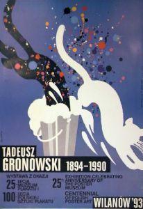 Polnische Plakatkunst Swierzy, Waldemar Tadeusz Gronowski 1894-1990