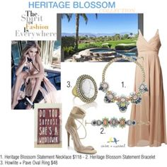 """""""Palm Desert Outfit"""" by jeweldujour on Polyvore"""
