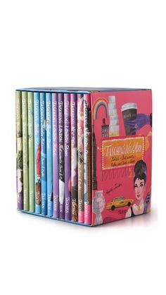 Books with Style Taschen's 4 Cities $59.99. Box set collection of 12 volumes of Taschen's city travel guide series. Paris, New York, London & Berlin.