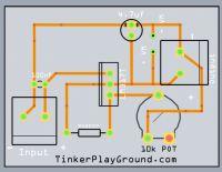 LM317 Adjustable Power Supply Schematic