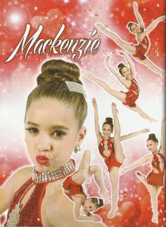 Dance Moms - Mackenzie Ziegler - Red