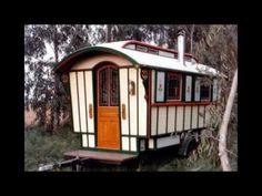 Building the Modern Vardo ( Gypsy Wagon) - YouTube