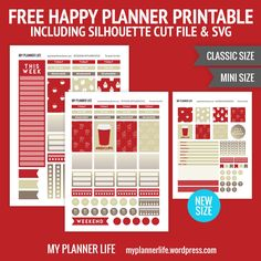 Free Printable Red Cups Planner Stickers from My Planner Life Planner Tips, Free Planner, Planner Pages, Printable Planner Stickers, Free Printables, Starbucks Planner, Planner Writing, Discbound Planner, Mini Happy Planner