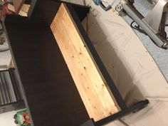Kitchen table bench seat with a back
