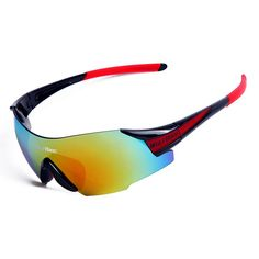 Original BATFOX Protection Cycling Sunglasses MTB 3 Lens Sporting Goggles