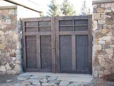 Copper Gate by Gulley Metal Services, Inc. Custom Metal Fabrication, Denver, Gate, Copper, Outdoors, Outdoor Decor, Outdoor, Brass, Nature