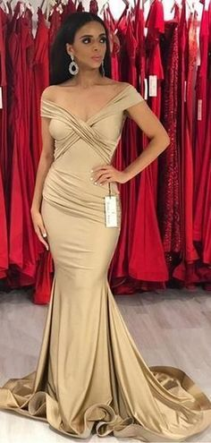 Champagne Gold Off Shoulder Mermaid Sexy Cheap Bridesmaid Dresses Online WG568 Cheap Bridesmaid Dresses Online, Champagne Bridesmaid Dresses, Mermaid Bridesmaid Dresses, Cheap Prom Dresses, Long Dresses, Gold Bridesmaids, Bridesmaid Outfit, Bridesmaid Ideas, Modest Dresses