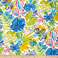 Screen printed on polyester, this Solar outdoor fabric will withstand up to 500 hours of sunlight exposure, resists stains, is water resistant and has 10,000 double rubs. Perfect fabric for porches, patios, deck side, pool side and boat side.  Create toss pillows, cushions, upholstery and great for tabletop, tote bags and more. To maintain the life of the fabric bring indoors when not in use. This fabric can easily be cleaned by wiping down or hand washing with warm water and a mild soap…