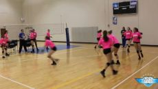Volleyball pursuit drill A simple drill that trains players to make quick changes of direction to pursue and control shots is demonstrated here at Texas Advantage Volleyball (TAV) club.The coach stands at the net; the players start near the back line. Volleyball Training, Volleyball Passing Drills, Volleyball Skills, Volleyball Practice, Volleyball Clubs, Volleyball Workouts, Volleyball Quotes, Coaching Volleyball, Beach Volleyball