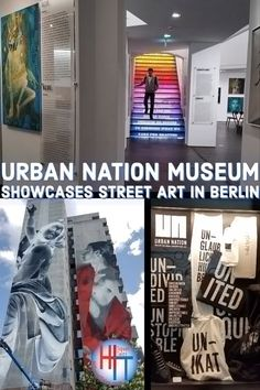 Urban Nation museum showcases street art in Berlin is like no other, uniting not only the nation but also the world as it turns the German capital into a giant international open-air street art gallery. Opened in September 2017, Urban Nation is just the beginning of your tour for great street art. #travel #berlin #visitberlin #destinations #streetart #urbanart #artmuseum #berlinmuseums #streetartmuseum #murals #grafitti #travelsmart Signature Travel, Berlin Street, Colors And Emotions, Berlin Wall, Dutch Artists, Street Artists, Urban Art, Murals, Art Museum