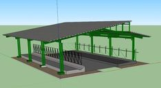 Cow Shed Design, Cattle Corrals, Barn Layout, Roof Truss Design, Cattle Barn, Horse Barn Designs, Farm Shed, Cattle Farming, Livestock