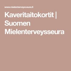 Kaveritaitokortit | Suomen Mielenterveysseura Viera, Life Skills, Diy And Crafts, Classroom, Positivity, Feelings, Kids, Class Room, Young Children