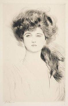La Duchesse de Montebello Paul César Helleu