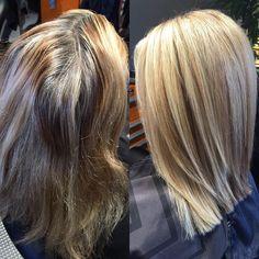 Yesterday's transformation! Full head blonde highlight & a little cut! #pravanapurelight #bethminardi #malibuC #olaplex #moroccanoil #paulmitchellhottools #batonrougehairstylist #batonrougestylist #beckywiththegoodhair #imallaboutdahair #idohair #booknow #thatlacommunity #batonrougehair #instahair #modernsalon #americansalon #behindthechair #tlgbeautylounge