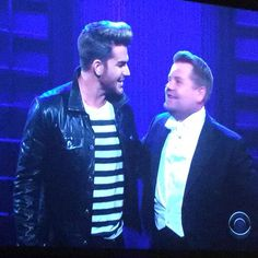 Adam Lambert slays 'Ghost Town' On Late Late Show - July 2015