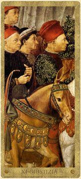 Medici Tarot By Londa R. Marks, at WorldOfTarot.com Justice Tarot, Rider Waite Tarot, Fortune Telling, Italian Renaissance, House Of Cards, Royal House, Tarot Decks, Tarot Cards, Occult