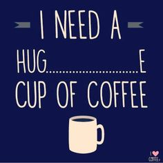 And a hug.. #mondays #coffeeaddicts #lovemesomecoffee by slchappycamper